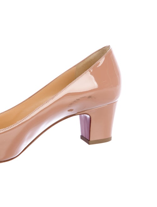 reputable site 794a0 0290f Christian Louboutin Pyramidame Patent Leather Pumps - Shoes ...