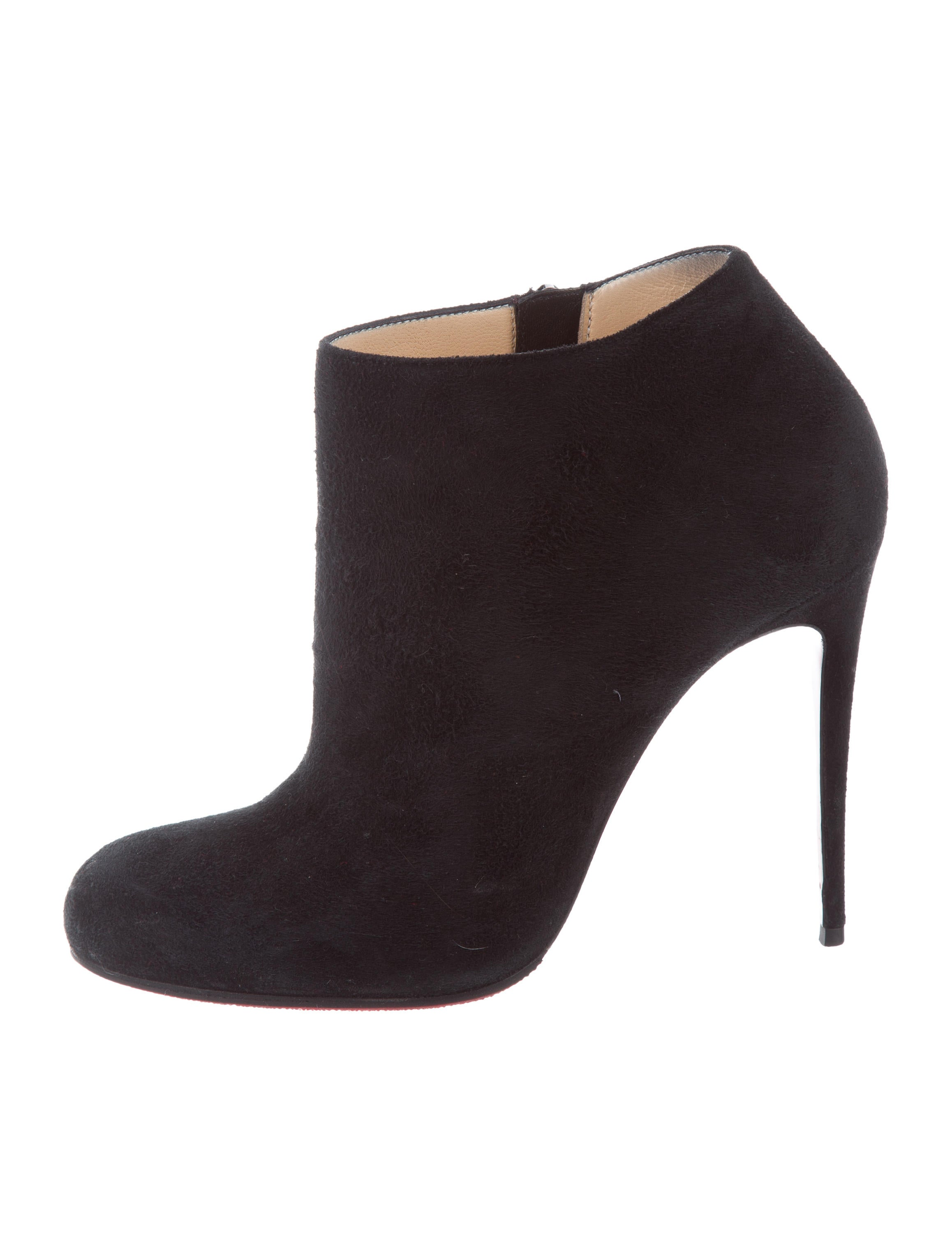 52704247ae0 wholesale christian louboutin suede bellissima ankle booties value ...