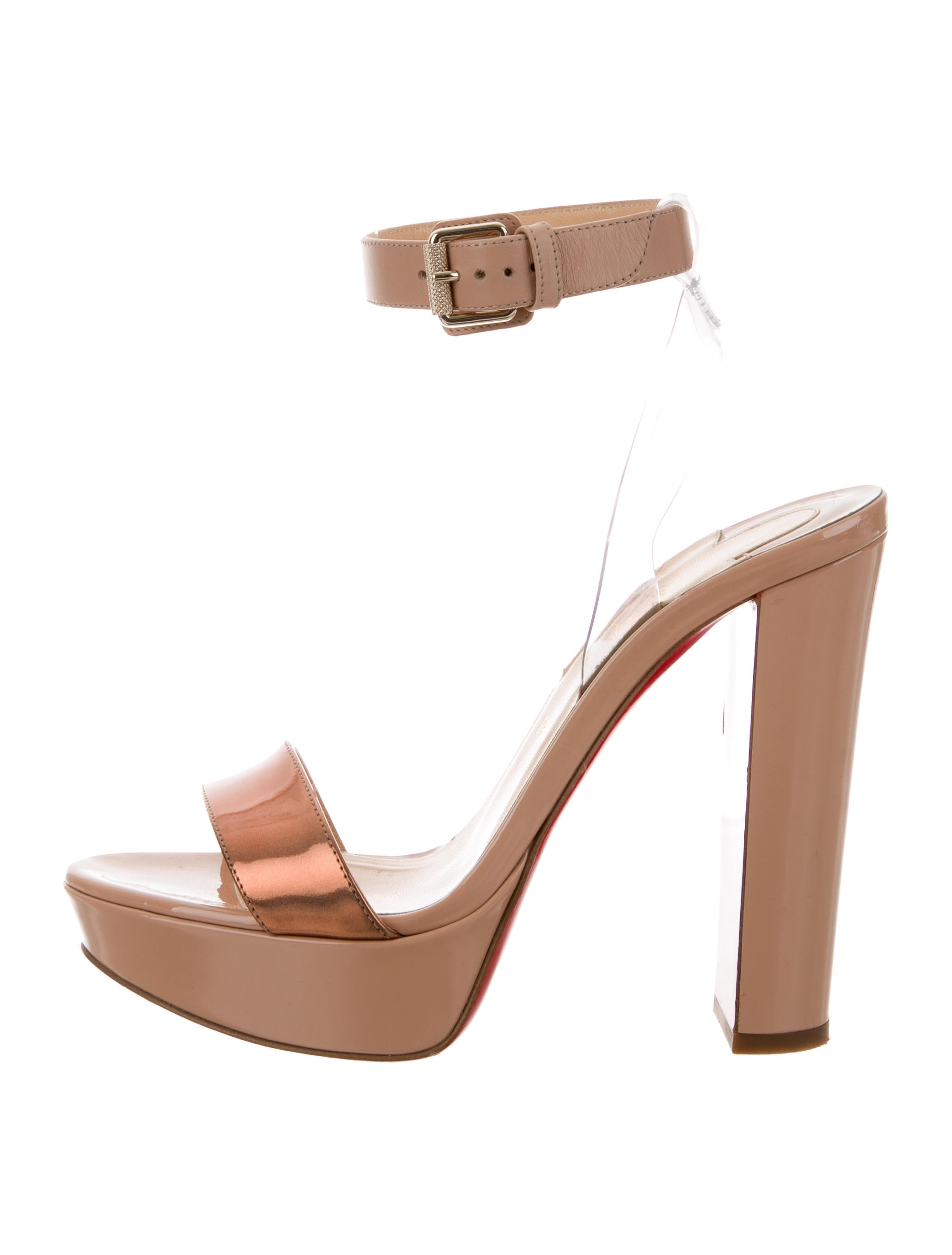 5572581650bc Christian Louboutin Cherry 140 Sandals - Shoes - CHT82755