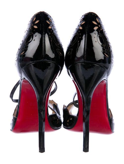 2e0ac52fed6 Christian Louboutin Enchantee Laser Cut Sandals - Shoes - CHT82895 ...