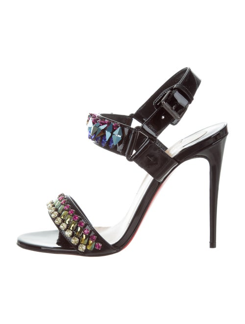 8069fbf89c49 Christian Louboutin 2016 Sova Broda 100 Sandals w  Tags - Shoes ...