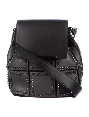 Christian Louboutin Lucky L Convertible Bucket Bag None