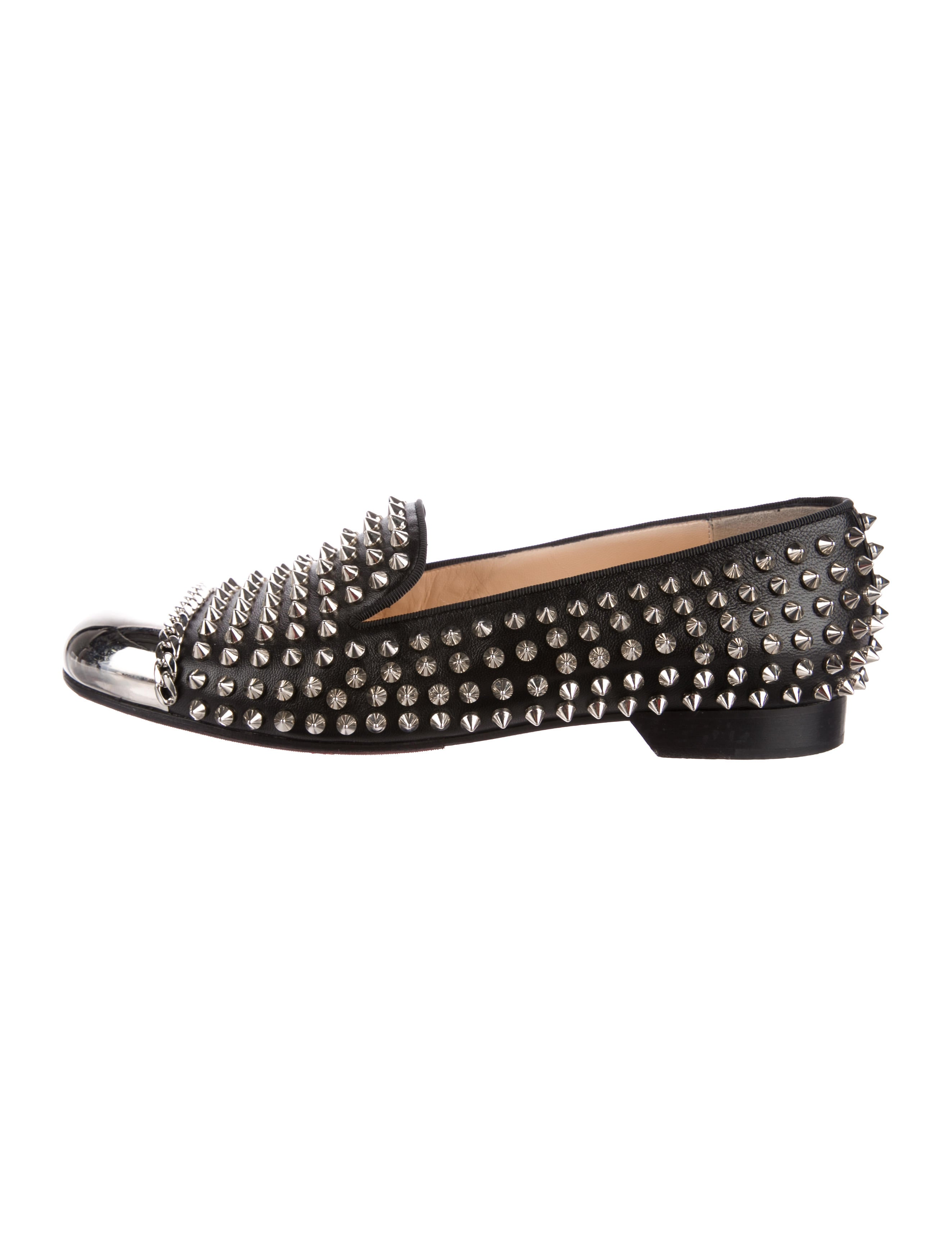 Christian Louboutin Glitz Spiked Loafers newest very cheap discount shop for cheap sale 2014 ex4jmY88