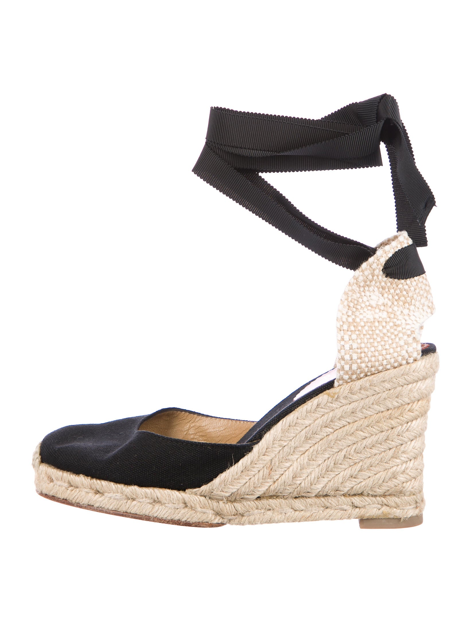 Christian Louboutin Espadrille Wrap-Around Wedges low cost very cheap price clearance best sale cheap sale discounts clearance 2015 new 5vOrW