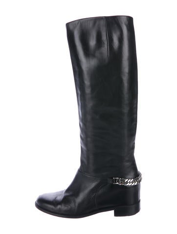 Christian Louboutin Leather Knee-High Boots None