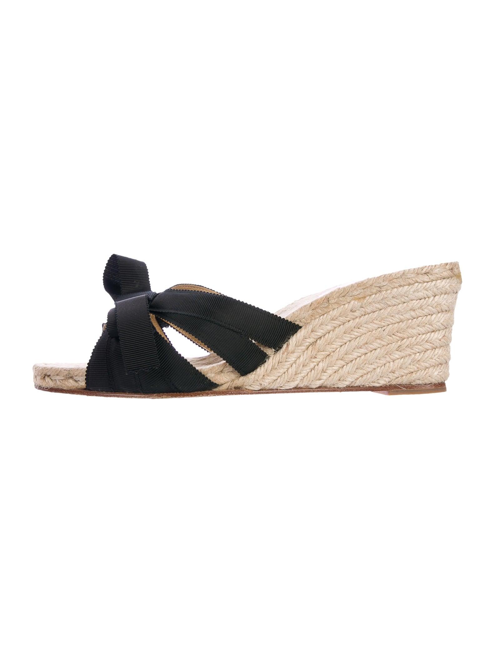 Christian Louboutin Tiburon Espadrille Wedge Sandals cheap amazing price great deals sale online jXPkr9K