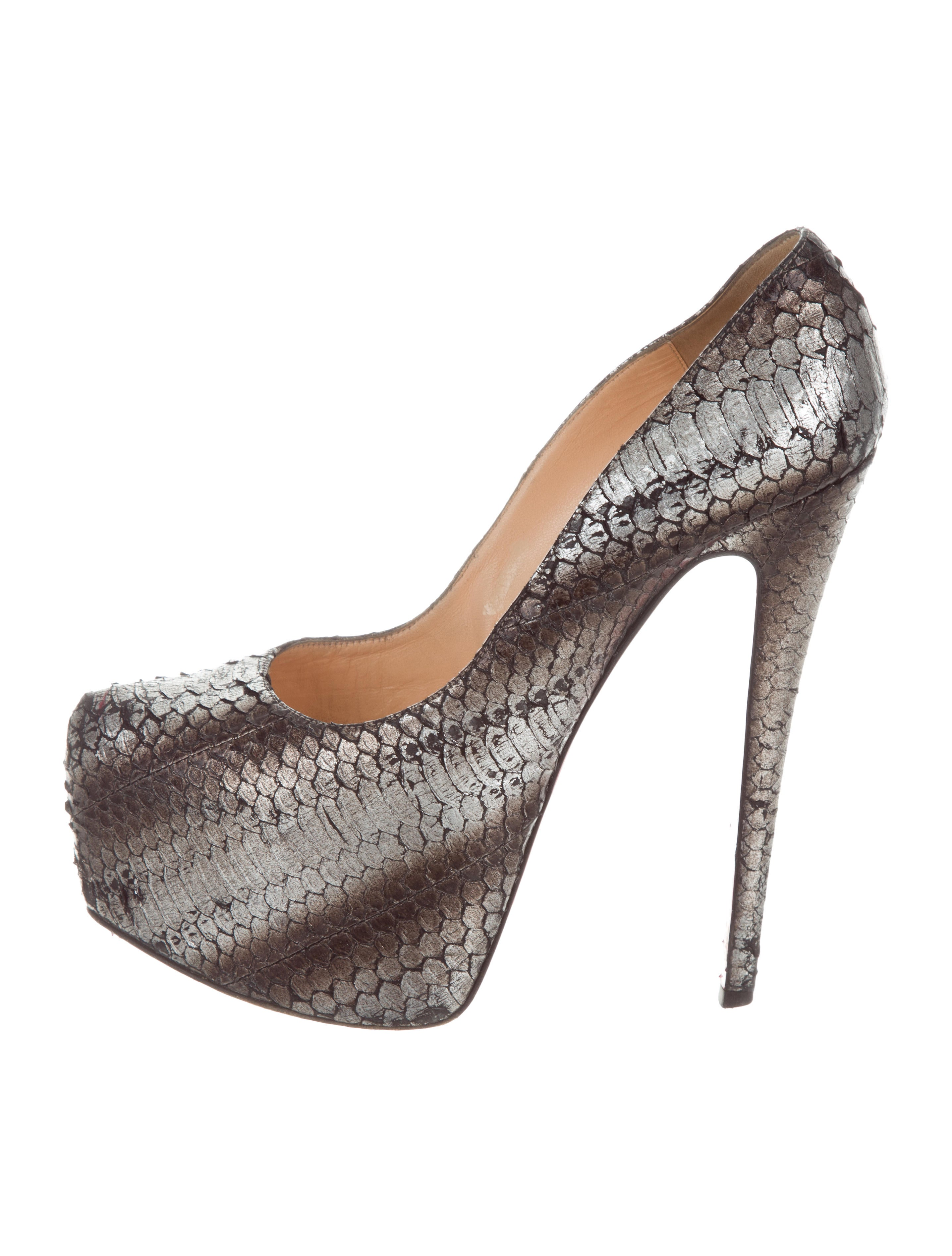 Christian Louboutin Highness Metallic Python Pumps excellent sale online clearance reliable discount sast buy cheap lowest price LJgRXNii