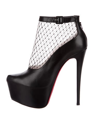 Christian Louboutin Resillissima 160 Leather Booties None