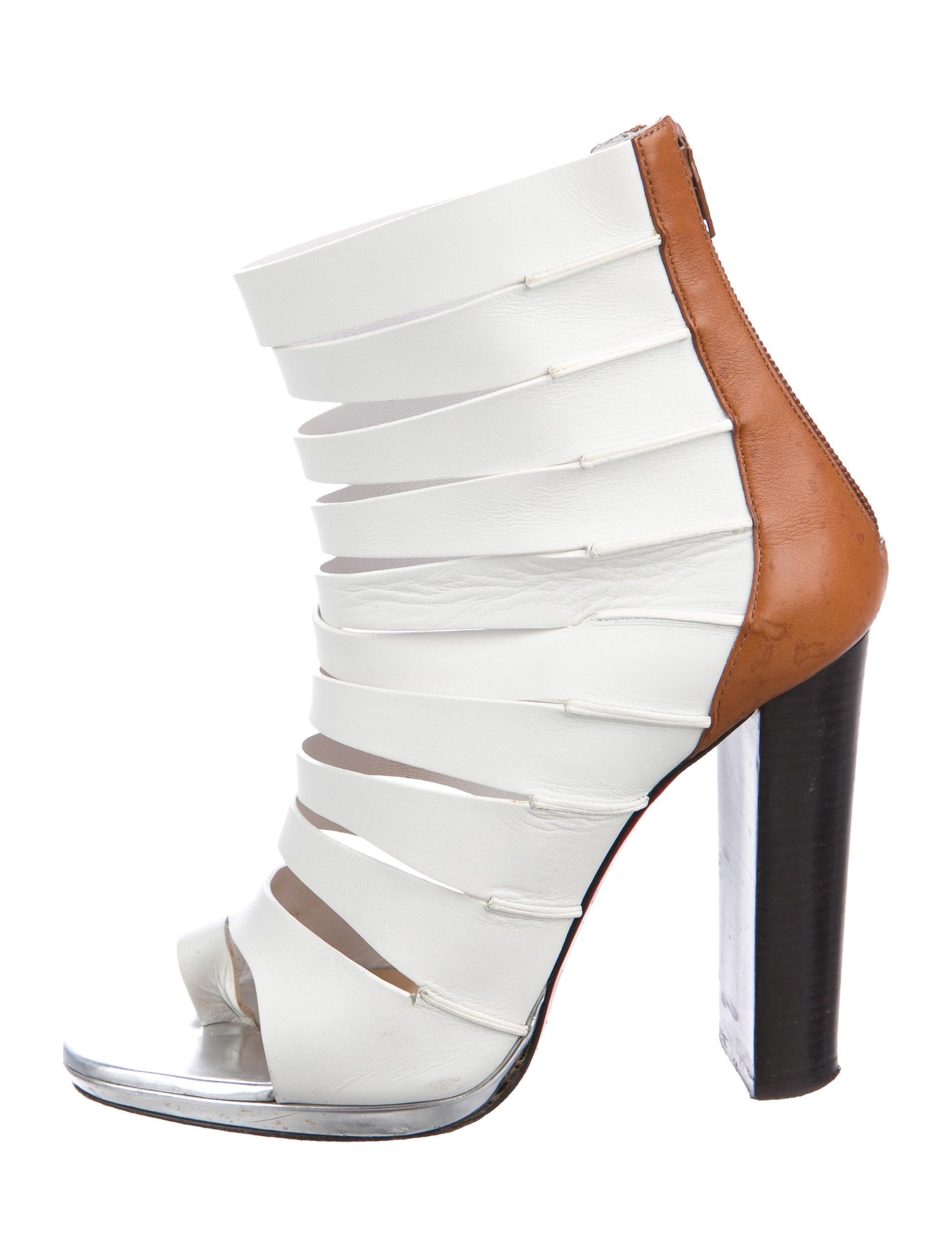 Christian Louboutin Decoupata Cutout Sandals sast cheap online clearance many kinds of discount perfect nzIZu