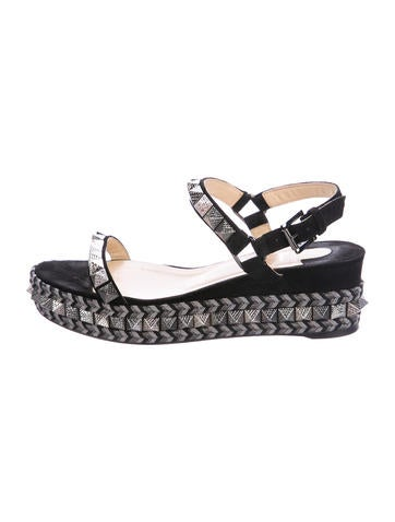 Christian Louboutin Cataclou Studded Espadrilles None