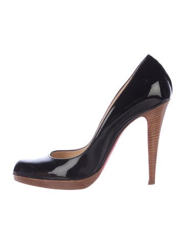 Christian Louboutin Patent Leather Pumps None
