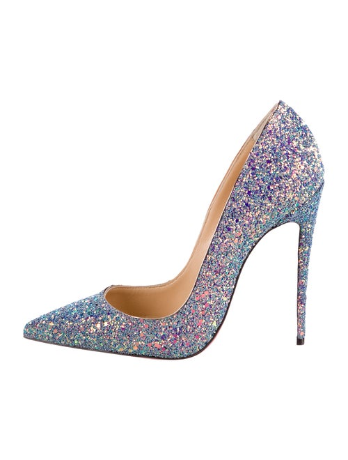brand new 5185a 55ba3 Christian Louboutin So Kate Glitter Dragonfly Pumps w/ Tags ...