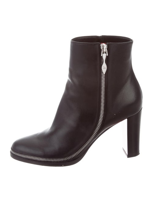bca6b1e4121 Christian Louboutin Telezip Leather Booties - Shoes - CHT89271 | The ...