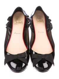 competitive price 15fb2 dca9a Christian Louboutin Gloriana Ballet Flats - Shoes - CHT89350 ...