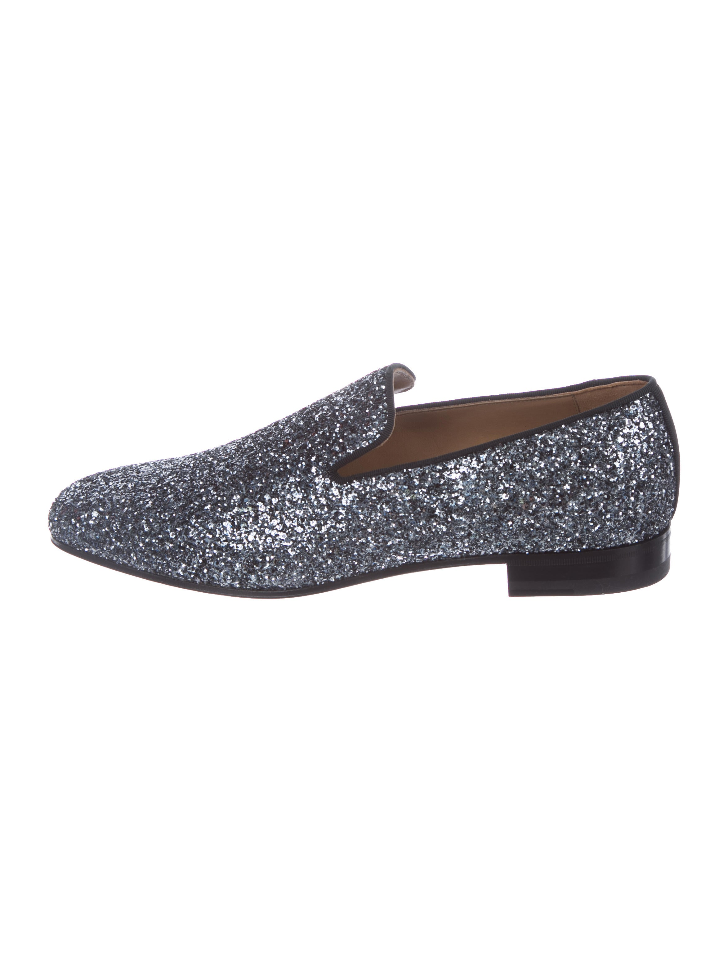 buy cheap largest supplier sale limited edition Christian Louboutin Dandy Glitter Loafers w/ Tags cFC99xnKy