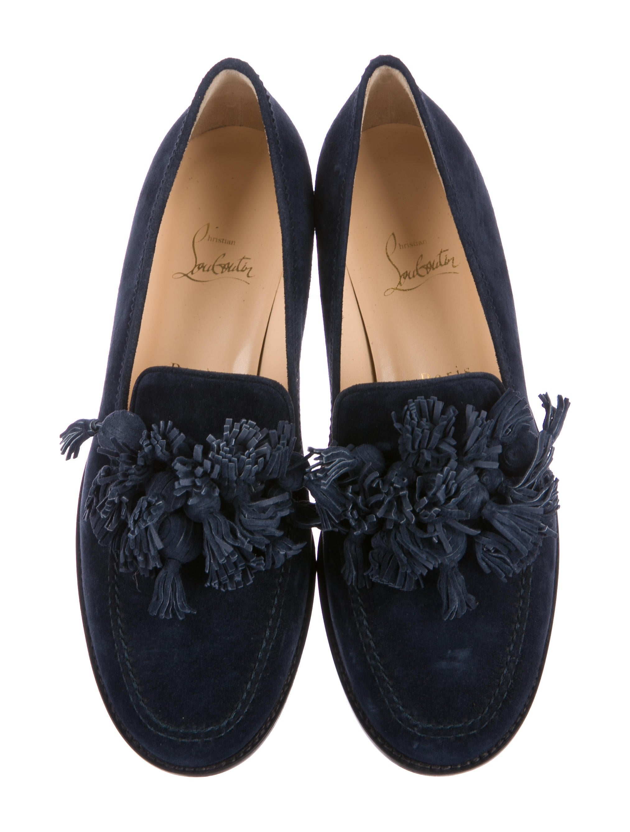 Christian Louboutin Japonaise Tassel-Embellished Loafers w/ Tags cheap sale new cheap sale great deals free shipping good selling how much cheap online QhWX6l