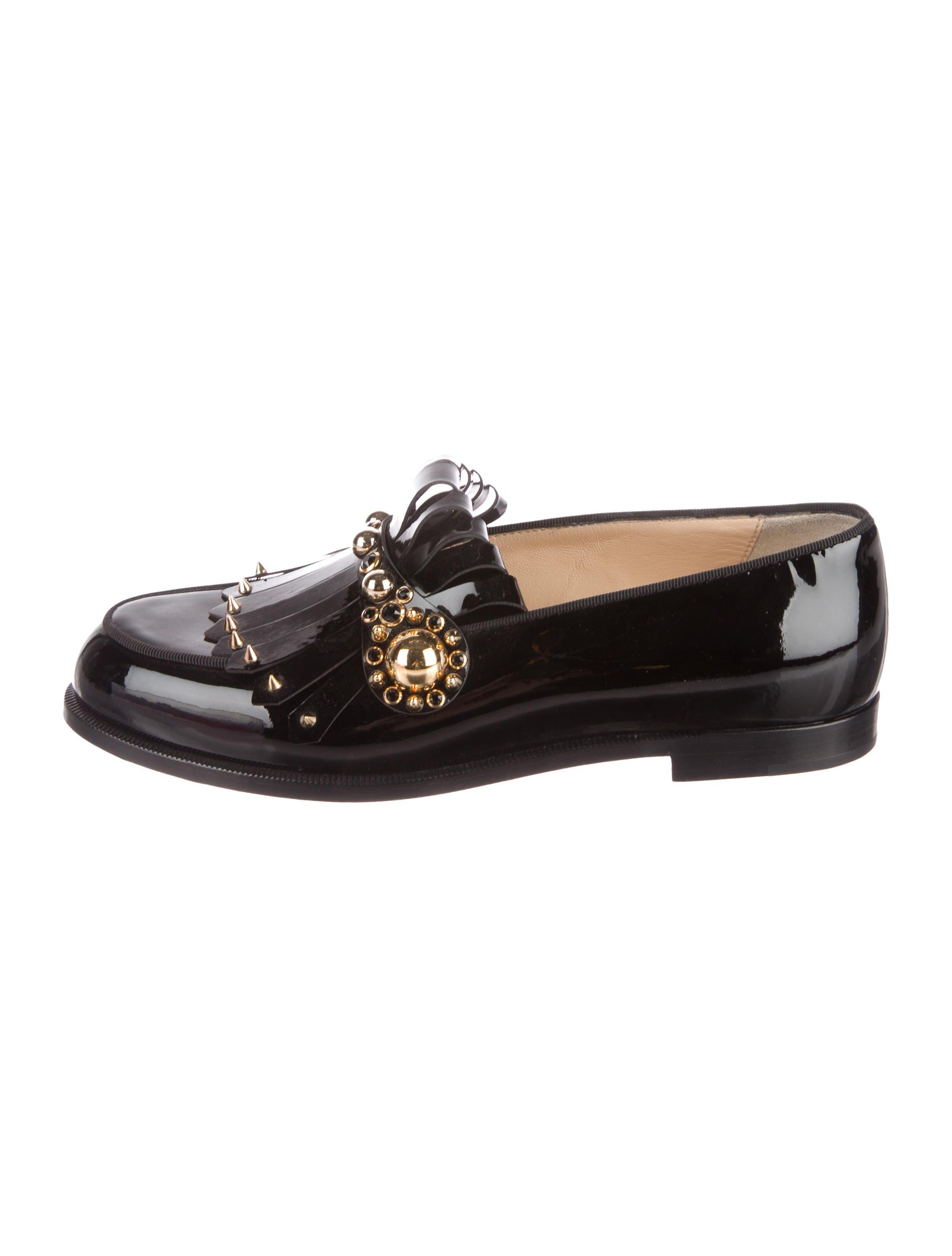 Christian Louboutin 2017 Octavian Patent Leather Loafers largest supplier sale online Ue9jU8sUD