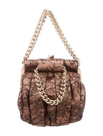 Christian Louboutin Lace Loubinette Bag None