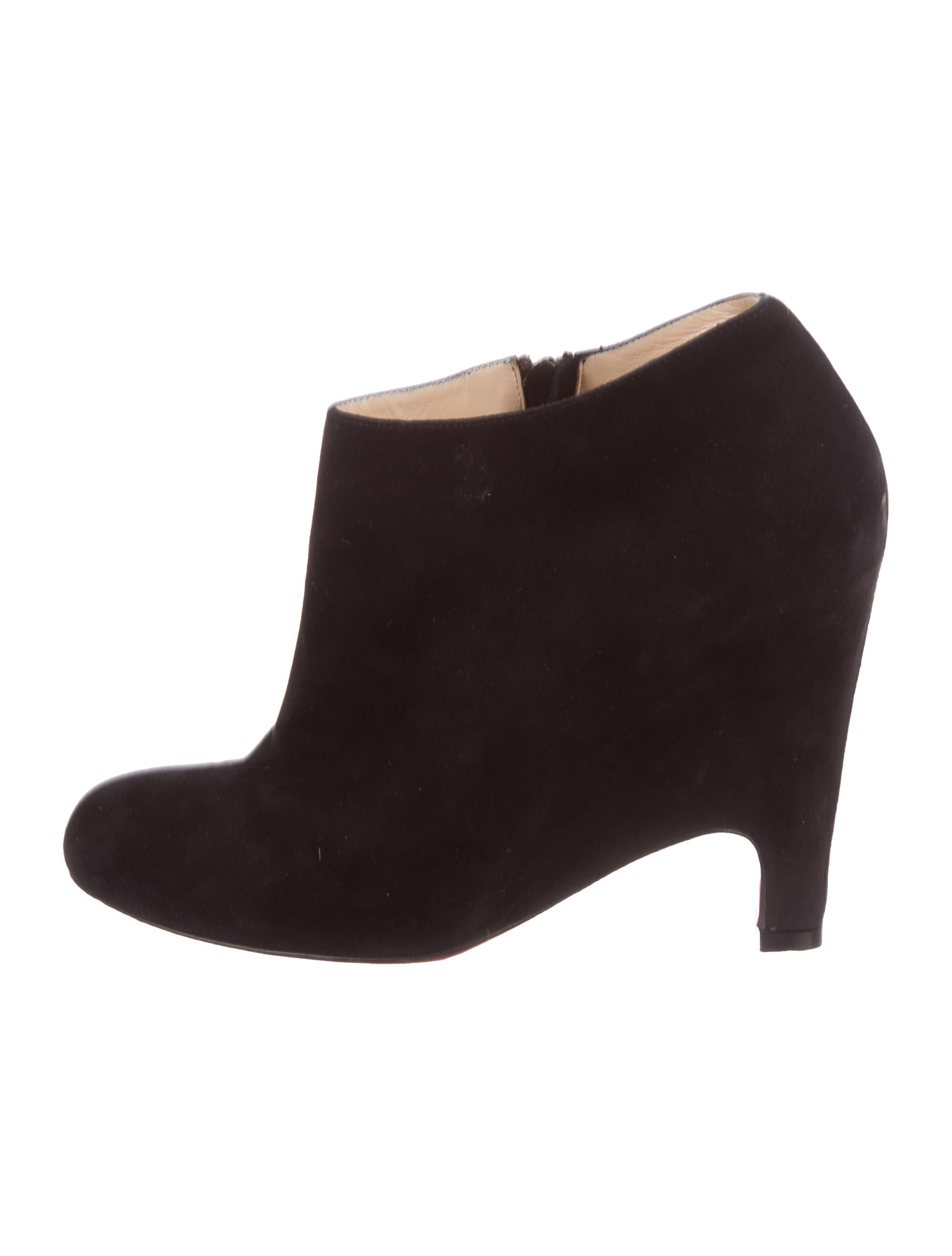 Christian Louboutin Morphing Booty 100 Suede Booties best store to get cheap online 2015 new cheap online S3cLS