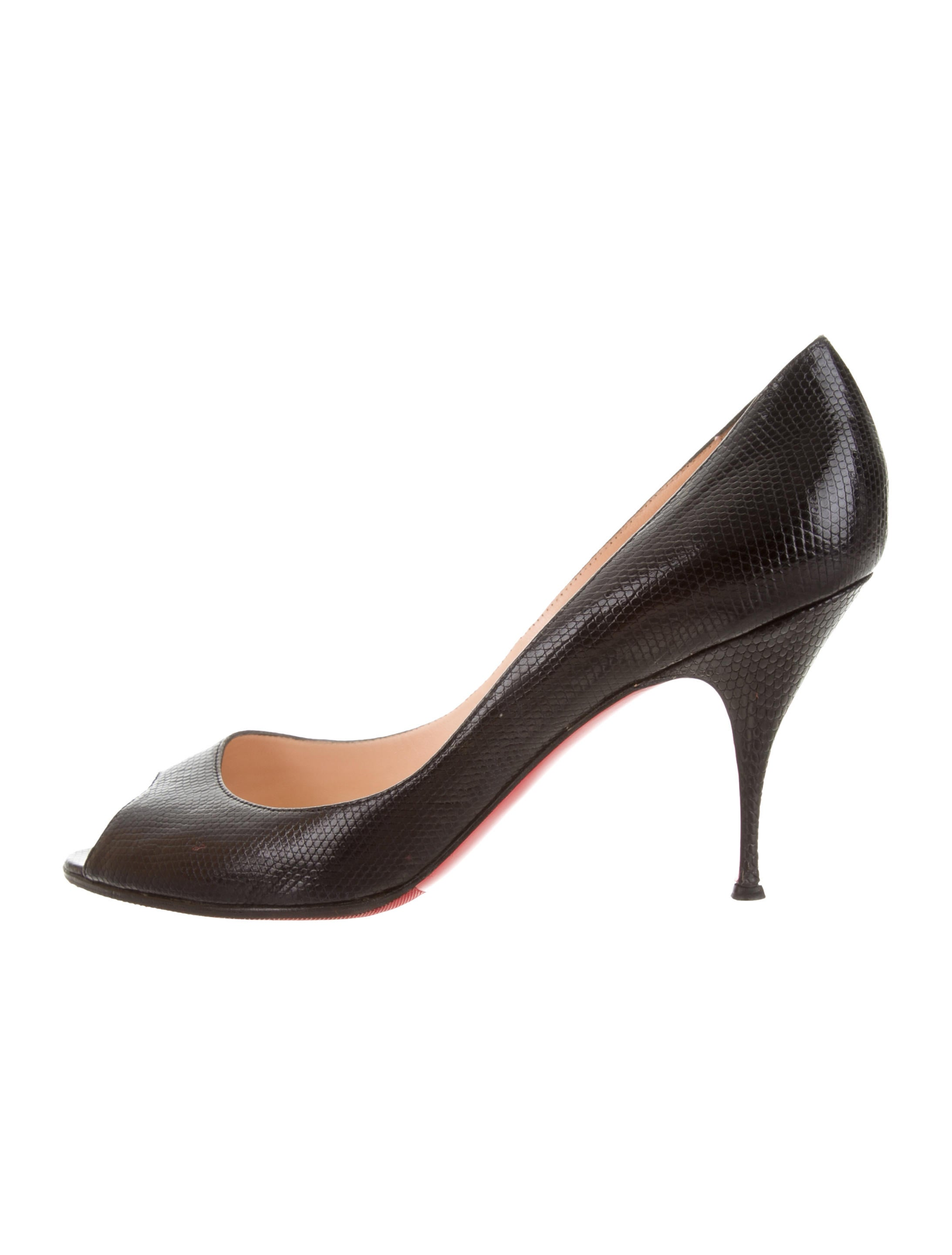 Christian Louboutin YoYo Lizard 85 Pumps clearance online sale from china online cheap online cheap real authentic v9enc1w3