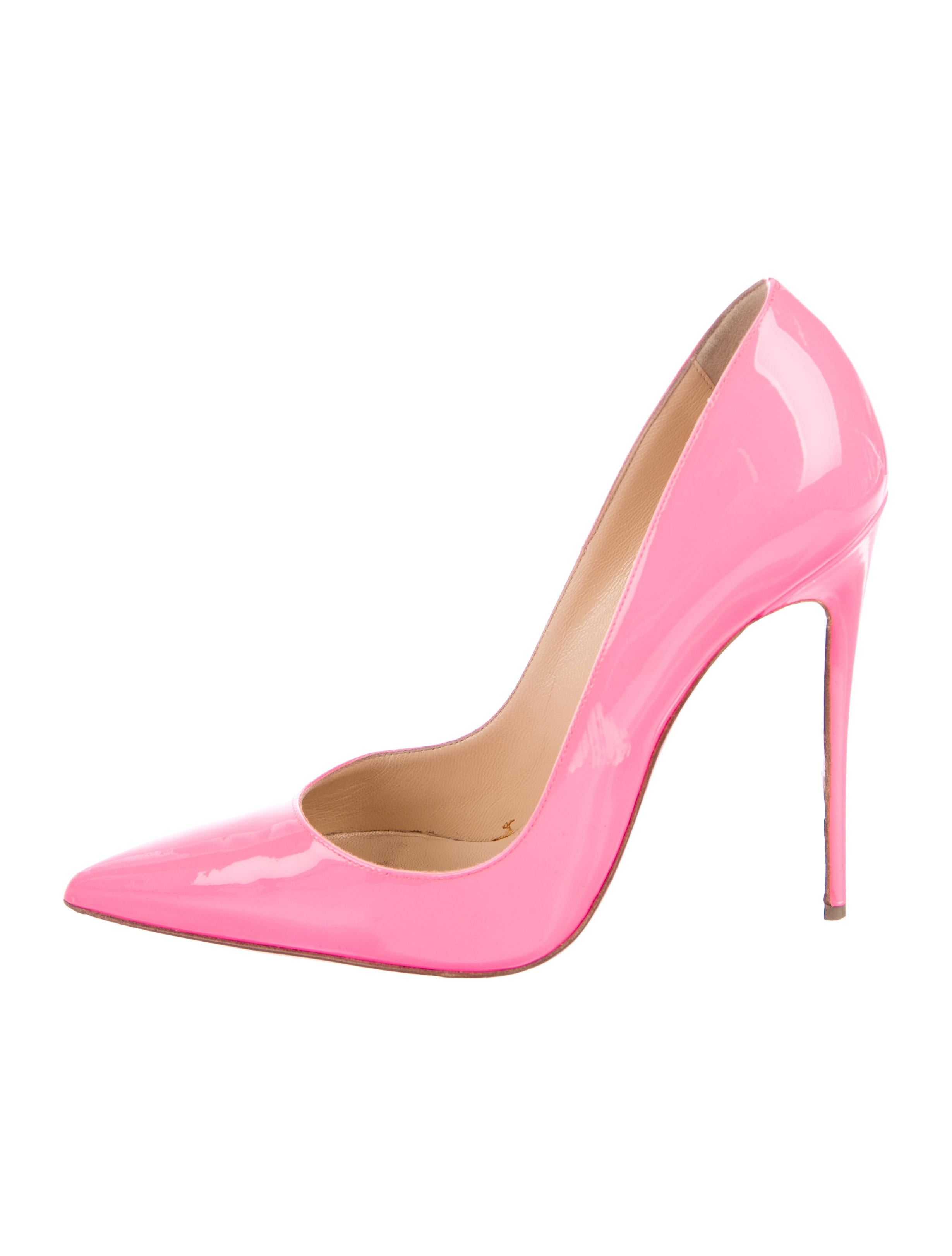 c78f0ae2cdd Christian Louboutin Neon So Kate Pumps - Shoes - CHT92209 | The RealReal