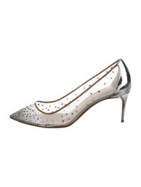 meet b698c a0ce1 Christian Louboutin Follies Strass 70 Pumps - Shoes ...