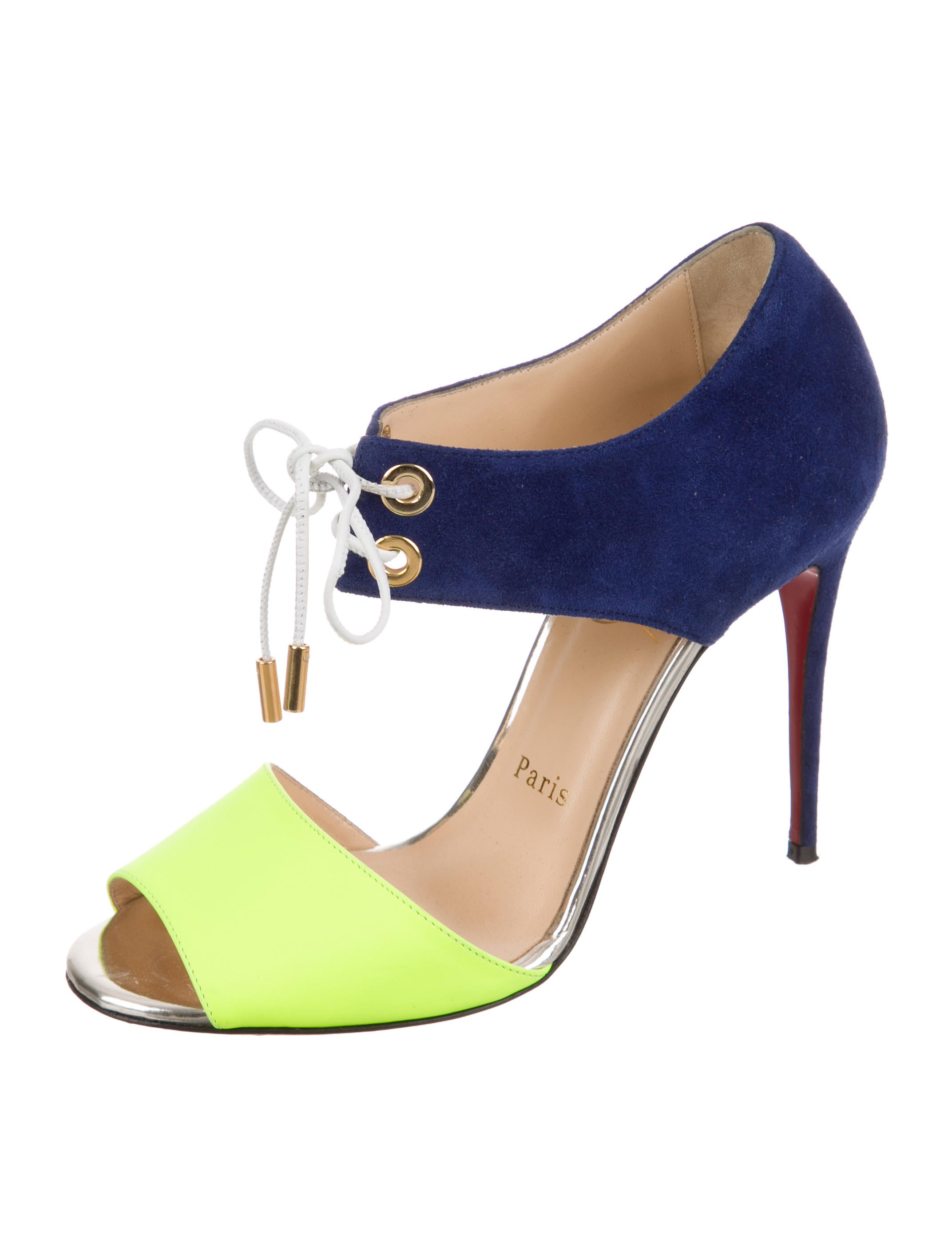 recommend online Christian Louboutin Tititata 55 Peep-Toe Pumps discount in China outlet release dates 100% original for sale NZs7Vm
