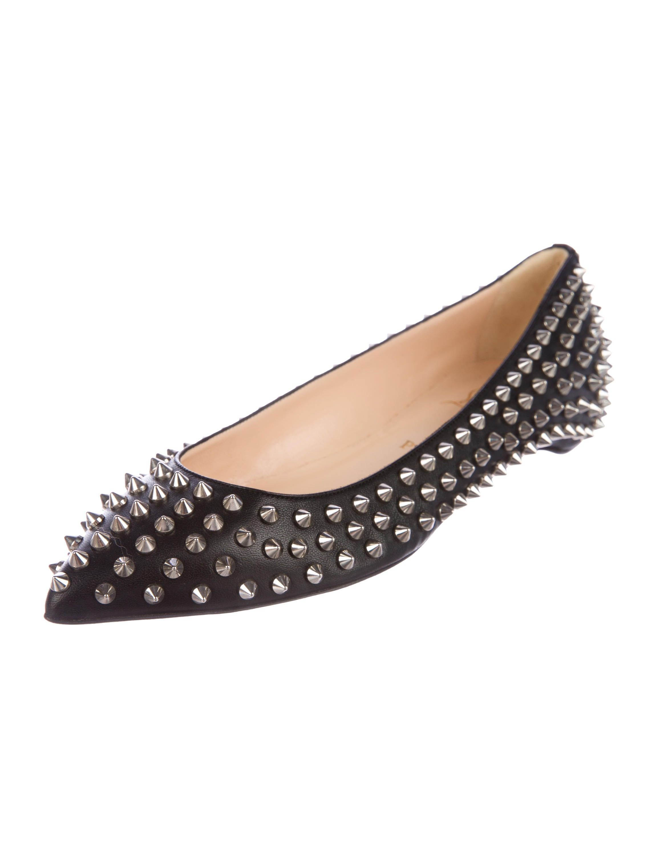 Christian Louboutin Pigalle Spikes Flats w/ Tags buy cheap 2014 newest reliable cheap price from china exclusive sale online WYoAY
