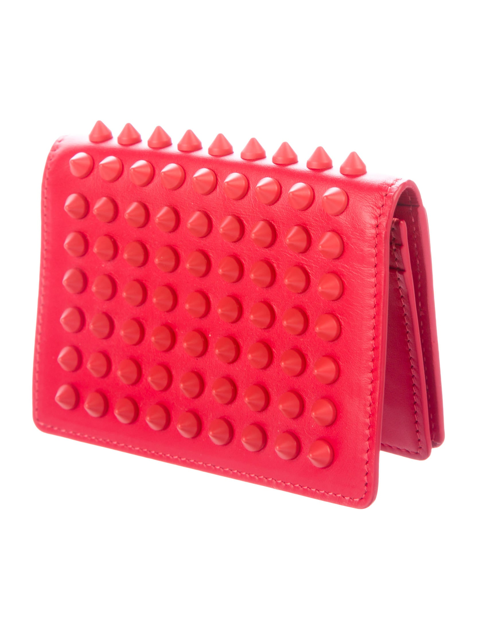 Christian Louboutin Paros Spikes Business Cardholder - Accessories ...
