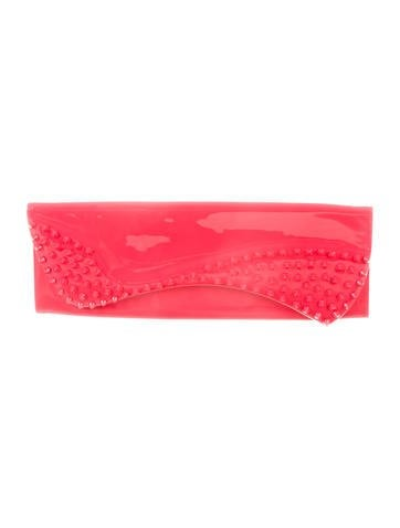Christian Louboutin Pigalle Spikes Clutch None