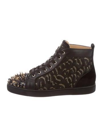 Christian Louboutin Lou Pik Pik Flat Sneakers None