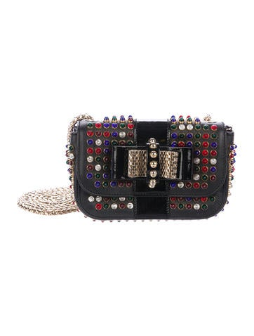 Christian Louboutin Embellished Mini Sweet Charity Bag None