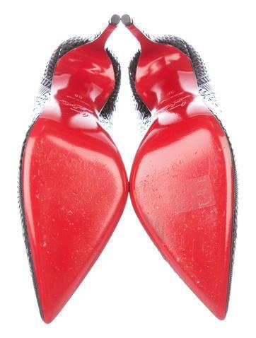 Kristali Laser-Cut Pumps