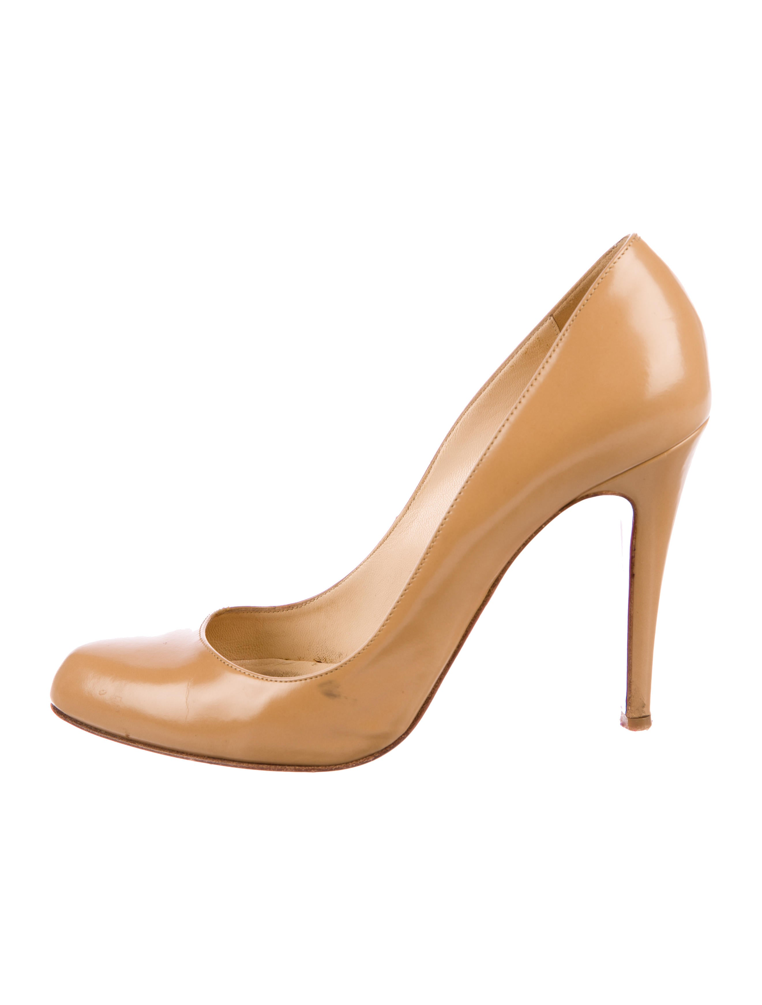 new style 7ffe6 e7537 Ron Ron Leather Pumps