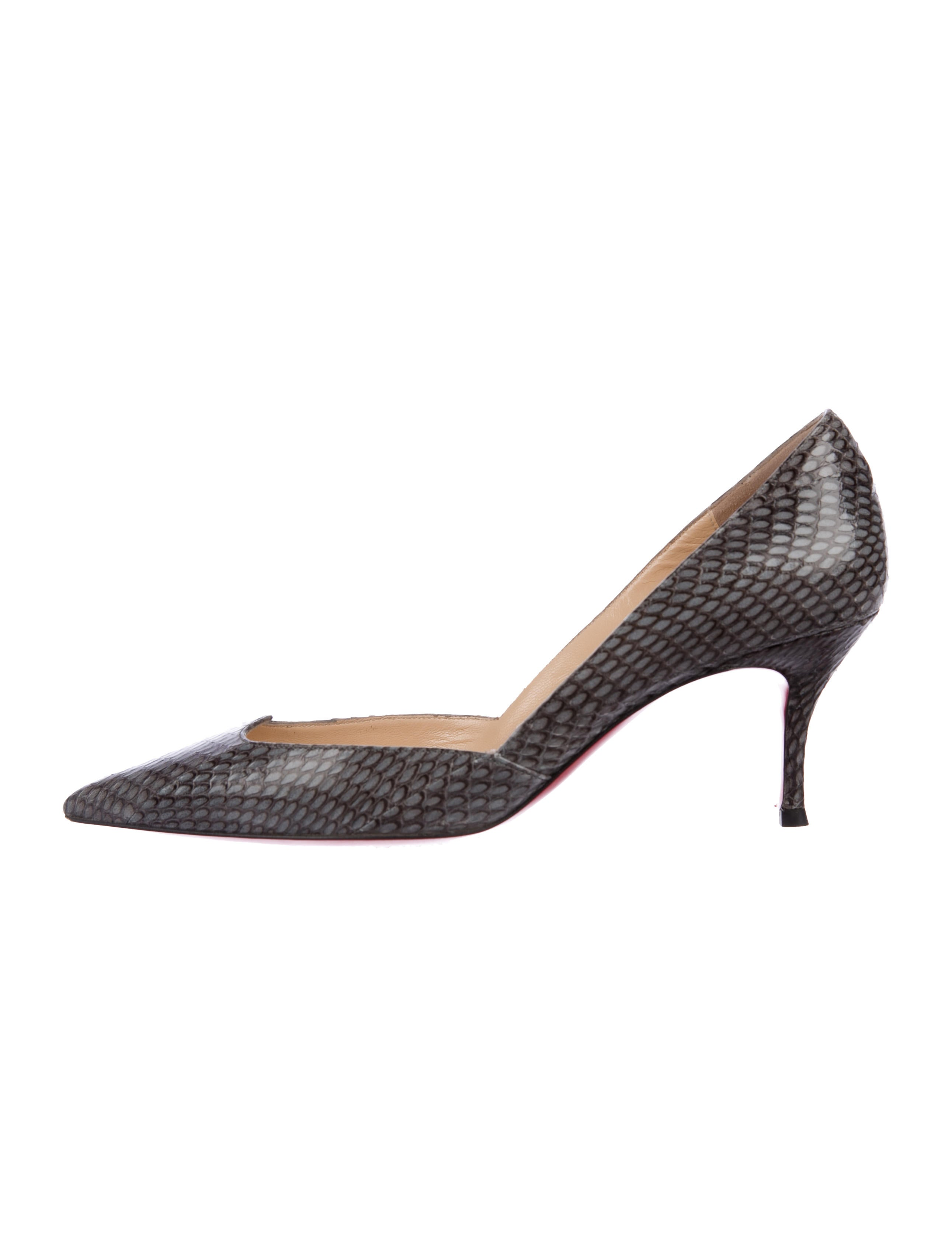 Christian Louboutin Malachic 70 Snakeskin Pumps cheap sale pay with paypal cheap sale prices DV1x552jH