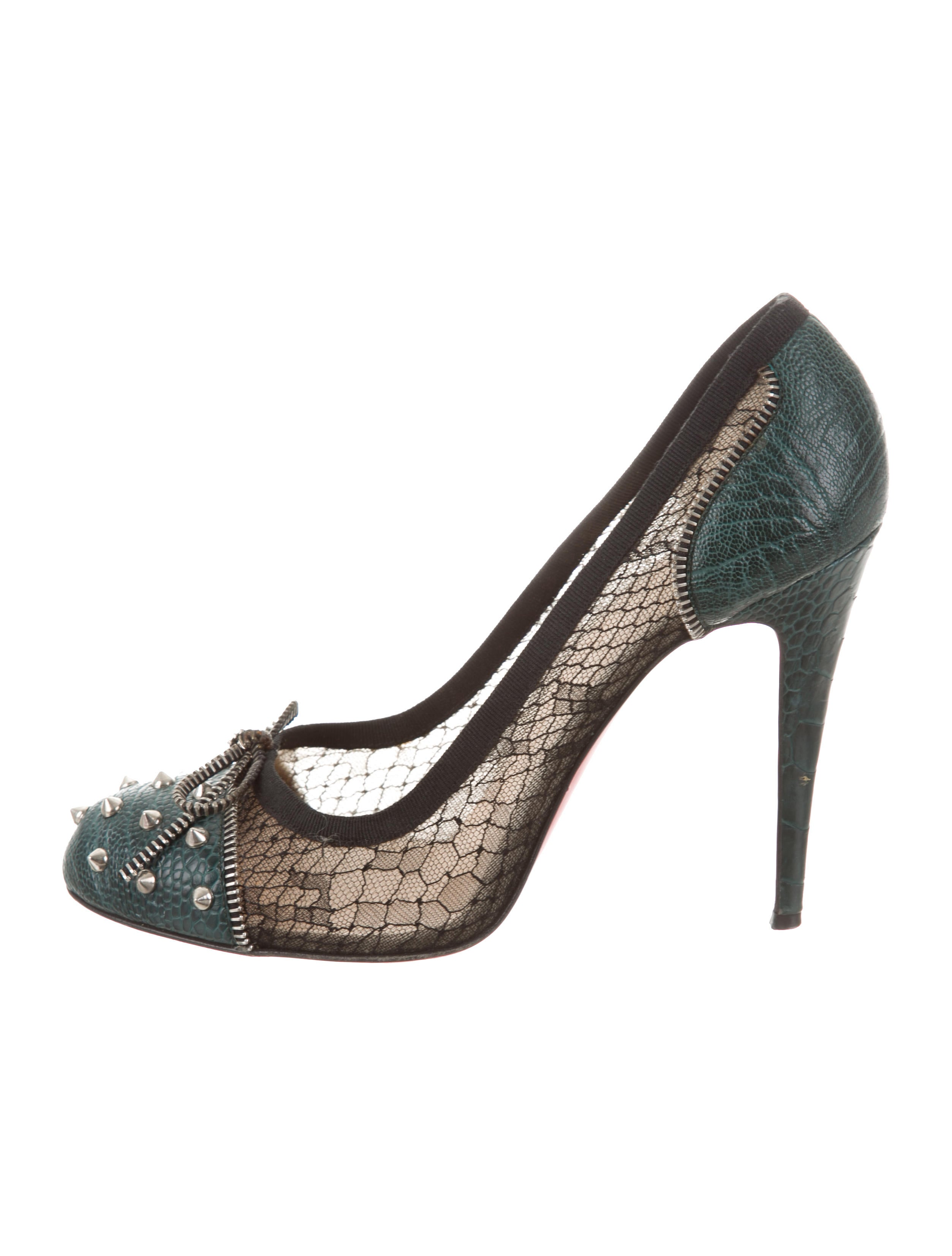 cheap sale new outlet visa payment Christian Louboutin Candy Lace Embellished Pumps bCNv6VXe