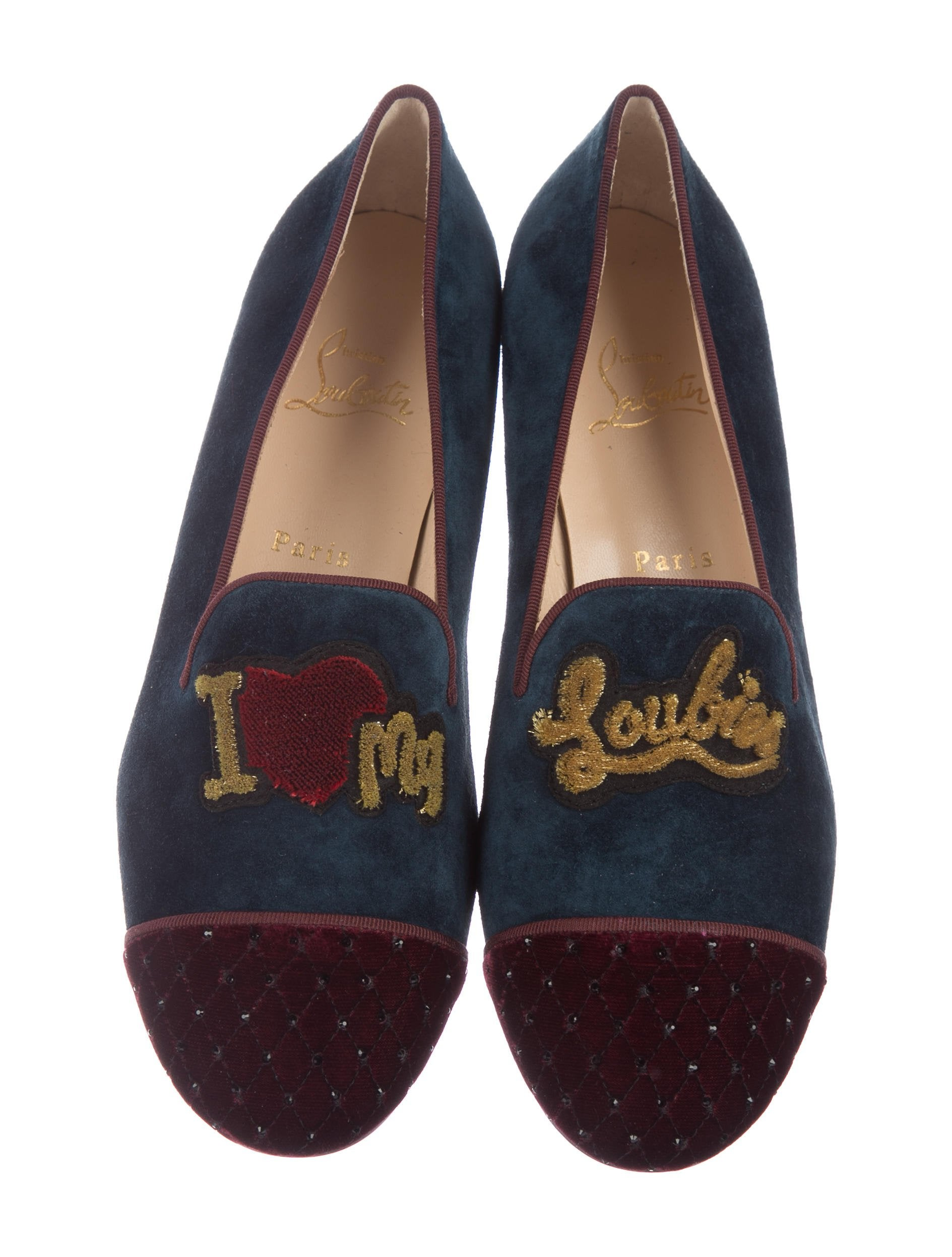 Christian Louboutin My Love Cap-Toe Loafers w/ Tags brand new unisex cheap price mH5d8