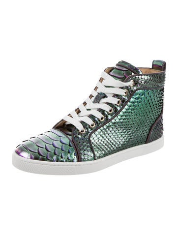 Christian Louboutin Bip Bip Python Sneakers w/ Tags outlet 2014 newest free shipping clearance 08VyYH8