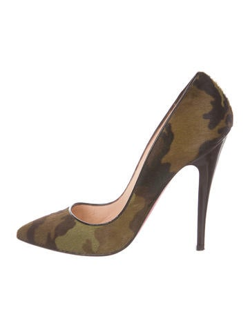christian louboutin pigalle camouflage pumps