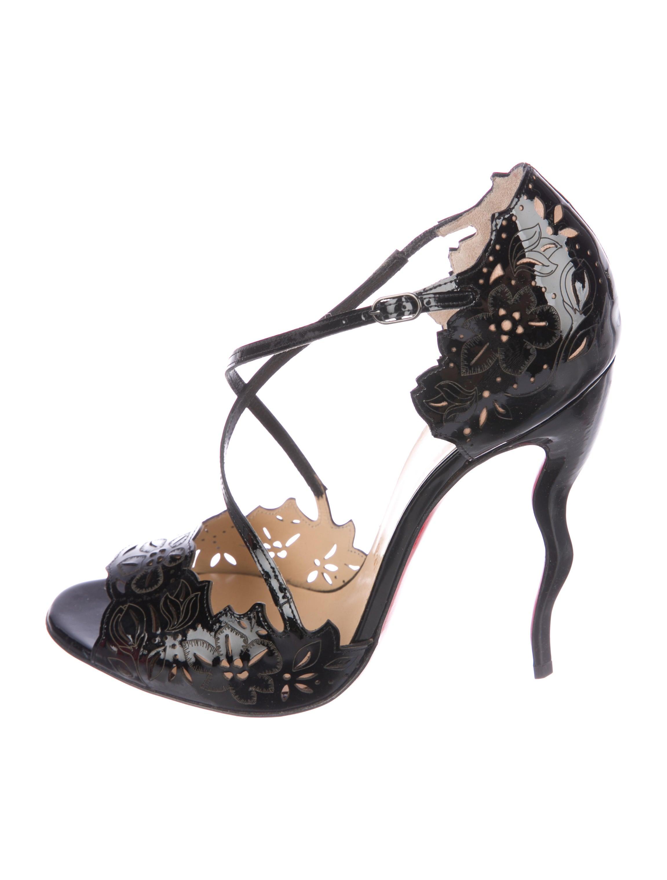 758dc66fc77 Christian Louboutin Enchantee Laser Cut Pumps - Shoes - CHT98871 ...