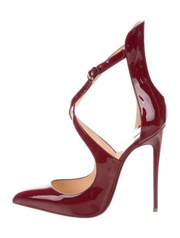 23d9e6ad4398 Christian Louboutin Marlenarock 120 Patent Pumps w  Tags - Shoes - CHT99666