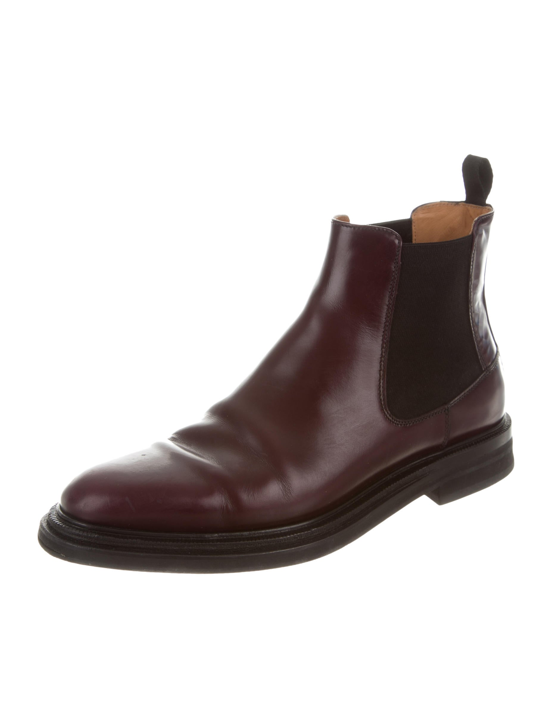 Electric Karma London Boot Chelsea Brown Round Faux Leather Ankle Boots GBX Packer Men's Genuine Leather Chelsea Boots Casual Slip On Ankle Boots See more like this. John Varvatos USA Chelsea Boots Size 9 Brown Leather Wing Tip. Pre-Owned.