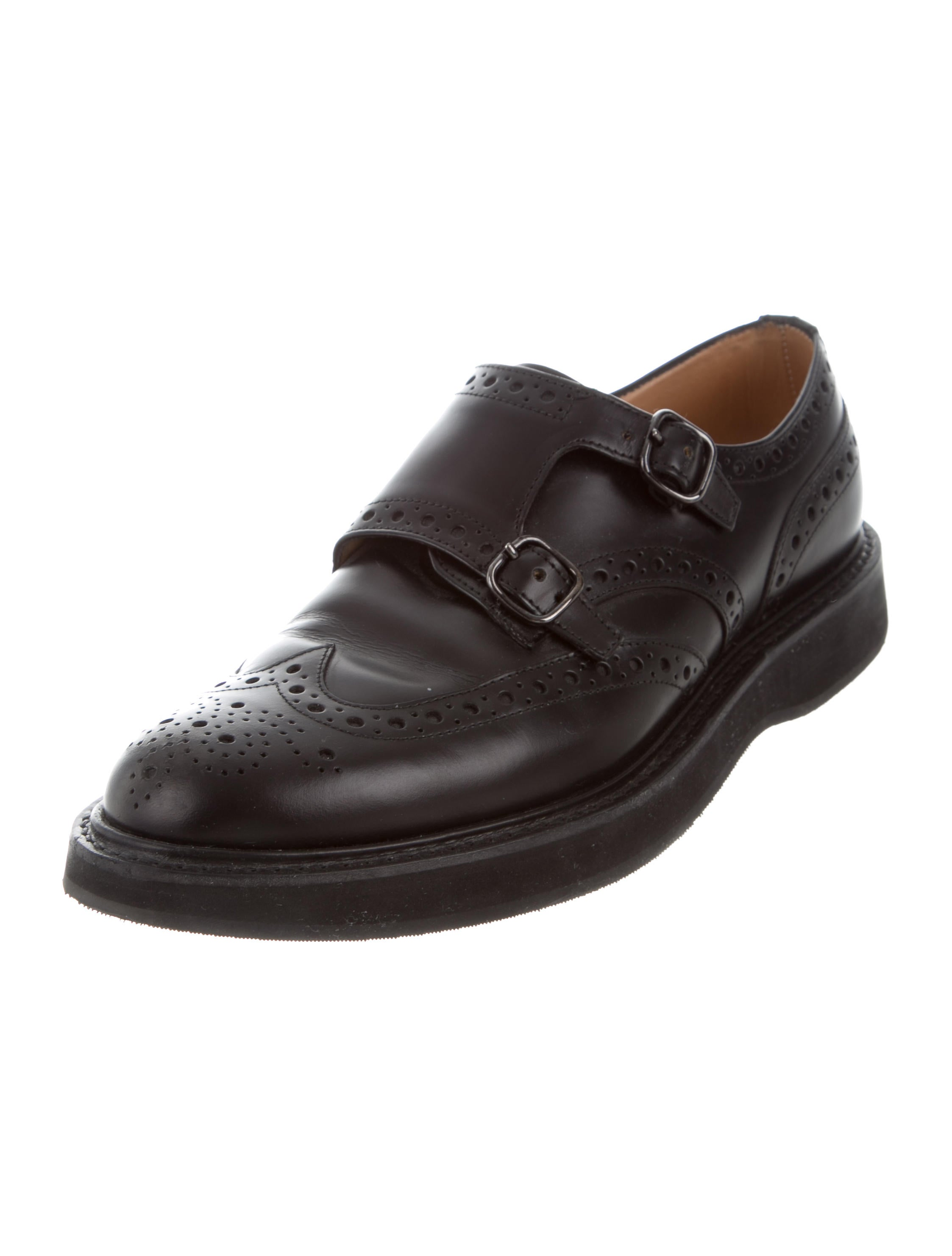 Churchs Leather Wingtip Loafers Shoes CHU20502 The  : CHU205022enlarged from www.therealreal.com size 2246 x 2964 jpeg 181kB