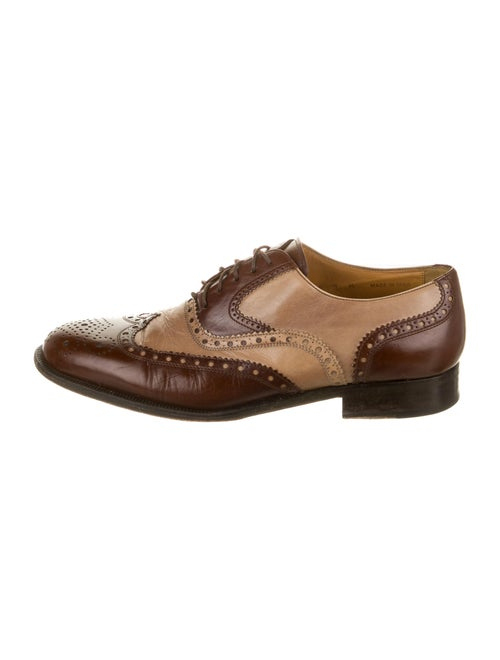 Church's Leather Spectators Brown