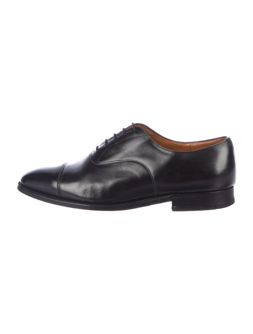 Church's Leather Oxfords Black