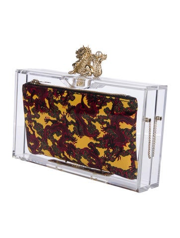 Dragon Perspex Clutch