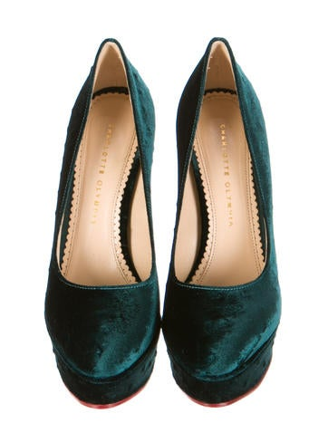 Crushed Velvet Pumps