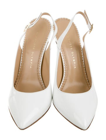Pointed-Toe Slingback Pumsp