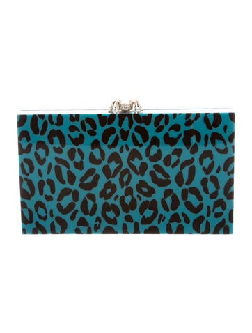 Leopard Print Pandora Clutch