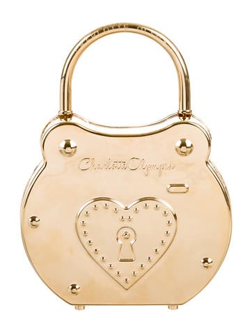 Charlotte Olympia Chastity Padlock Bag None